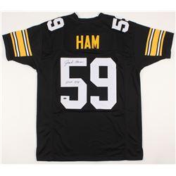 """Jack Ham Signed Jersey Inscribed """"HOF 88"""" (Schwartz COA)"""