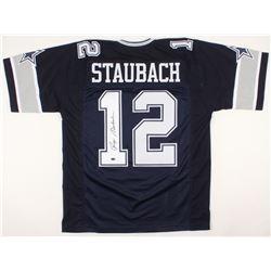 Roger Staubach Signed Jersey (Schwartz COA)