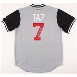 Tim Anderson Signed Chicago White Sox Jersey (Schwartz COA)