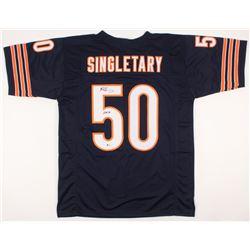 "Mike Singletary Signed Jersey Inscribed ""HOF 98"" (Beckett COA)"