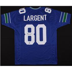 "Steve Largent Signed Jersey Inscribed ""HOF 95"" (Schwartz COA)"