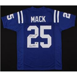 "Marlon Mack Signed Jersey Inscribed ""Mack Attack"" (Schwartz COA)"