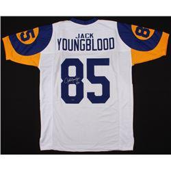 "Jack Youngblood Signed Jersey Inscribed ""HF 01"" (Schwartz COA)"