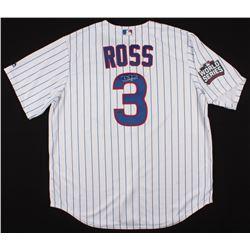 David Ross Signed Chicago Cubs 2016 World Series Jersey (Schwartz COA)