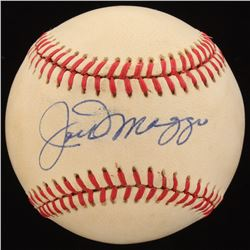 Joe DiMaggio Signed OAL Baseball (Beckett LOA)