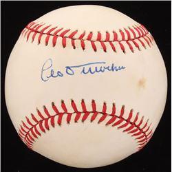 Leo Durocher Signed ONL Baseball (Beckett COA)