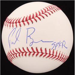 """Paul Ryan Signed OML Baseball Inscribed """"Spkr"""" (Beckett COA)"""