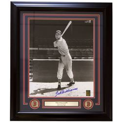 Ted Williams Signed Boston Red Sox 22x27 Custom Framed Photo Display (Ted Williams COA)