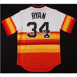 Nolan Ryan Signed Houston Astros Jersey (JSA COA  Ryan Hologram)