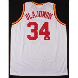 Hakeem Olajuwon Signed Jersey (JSA COA)