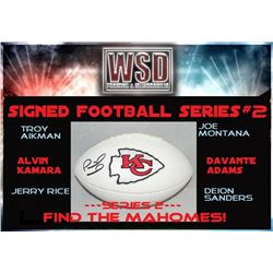 WSD Football Mystery Box - Series 2 (Find the Mahomes!)