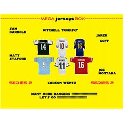 Mega Jersey Mystery Box - Autographed Jersey Series 2 #/100 (Many More Bangers!)