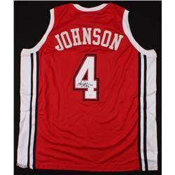 Larry Johnson Signed Jersey (JSA COA)