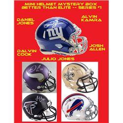 Better Than Elite Mystery Box - Autographed Mini Helmet Series 1 #/100 (Find the Elliottt!)