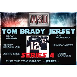 WSD Football Jersey Mystery Box - Series 4 (Find the Tom Brady Jersey!)