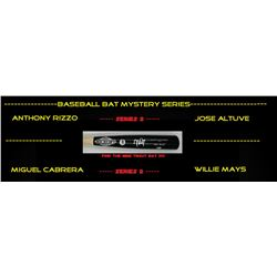 Autographed Baseball Bat Mystery Box - Series 2 (Find the Mike Trout!!)