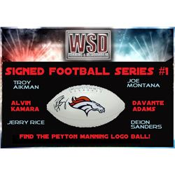 WSD Football Mystery Box - Series 1 (Find the Peyton Manning!)