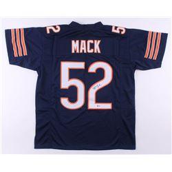 Khalil Mack Signed Jersey (Beckett COA)
