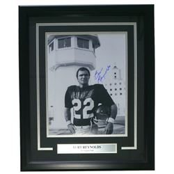 "Burt Reynolds Signed ""The Longest Yard"" 18x23 Custom Framed Poster Display (Steiner COA)"