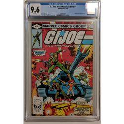 "1982 ""G.I. Joe"" Issue #1 Marvel Comic Book (CGC 9.6)"