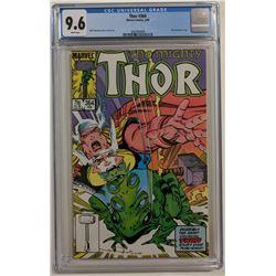 "1986 ""Thor"" Issue #364 Marvel Comic Book (CGC 9.6)"