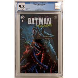"2019 ""The Batman Who Laughs"" Issue #1 One Stop Comic Shop Comics Exclusive Variant DC Comic Book (CG"