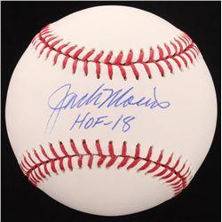 """Jack Morris Signed OML Baseball Inscribed """"HOF-18"""" (Schwartz COA)"""