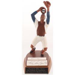 Roy Campanella Signed LE Brooklyn Dodgers Figurine (Salvino Authentic)