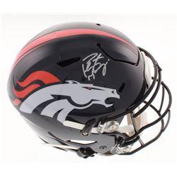 Peyton Manning Signed Denver Broncos Full-Size Authentic On-Field SpeedFlex Helmet (Fanatics Hologra