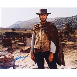 """Clint Eastwood Signed """"The Good, The Bad and The Ugly"""" 16x20 Photo ( PSA COA)"""