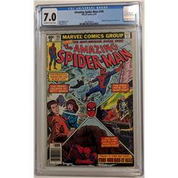 "1979 ""The Amazing Spider-Man"" Issue #195 Marvel Comic Book (CGC 7.0)"