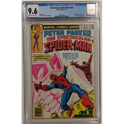 "1979 ""Spectacular Spider-Man"" Issue #26 Marvel Comic Book (CGC 9.6)"