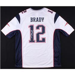 Tom Brady Signed New England Patriots Jersey ( TriStar Hologram  Steiner Hologram)