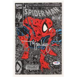 "Todd McFarlane Signed 1990 ""Spider-Man"" Issue #1 Marvel Comic Book (PSA COA)"