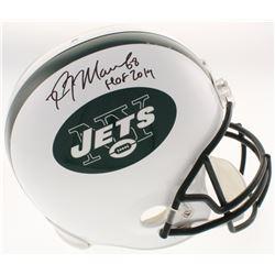 "Kevin Mawae Signed New York Jets Full-Size Helmet Inscribed ""HOF 2019"" (Schwartz COA)"