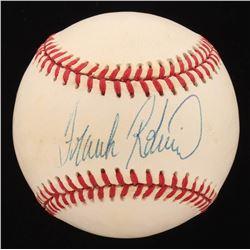 Frank Robinson Signed OAL Baseball (Hollywood Collectibles COA)