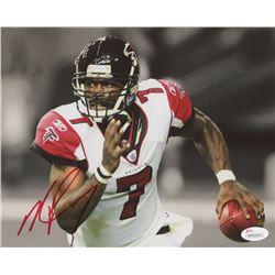 Michael Vick Signed Atlanta Falcons 8x10 Photo (JSA COA)
