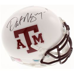 Dat Nguyen Signed Texas AM Aggies Mini Helmet (JSA COA)