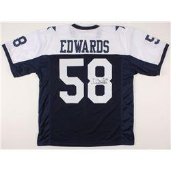 Dixon Edwards Signed Jersey (JSA COA)