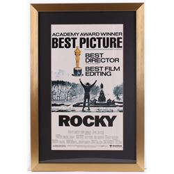 """""""Rocky"""" 17x25 Custom Framed Movie Poster Display"""