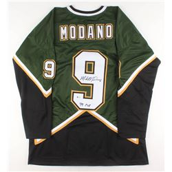 """Mike Modano Signed Jersey Inscribed """"99 Cup"""" (Beckett COA)"""