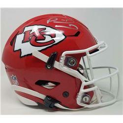 Patrick Mahomes Signed Kansas City Chiefs Full-Size Authentic On-Field SpeedFlex Helmet (Fanatics Ho