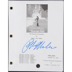 "Ralph Macchio Signed ""The Karate Kid"" Movie Script (Legends COA)"