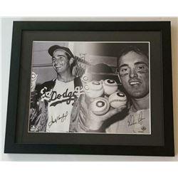Sandy Koufax  Nolan Ryan Signed 16x20 Custom Framed LE Photo (UDA COA)