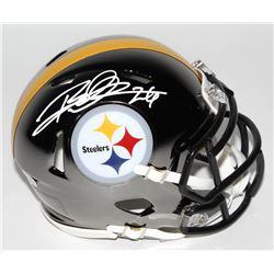 Rod Woodson Signed Pittsburgh Steelers Chrome Speed Mini Helmet (Schwartz COA)
