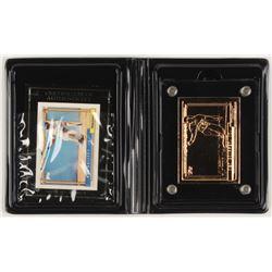 1994 Highland Mint Mint-Cards Topps #17 Ken Griffey Jr. 92 / G / 500 (Highland Mint COA)