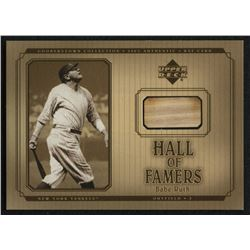 2001 Upper Deck Hall of Famers Game Bat #BBR Babe Ruth