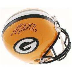 Davante Adams Signed Green Bay Packers Full-Size Helmet (Beckett COA)
