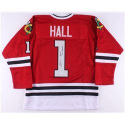 "Glenn Hall Signed Jersey Inscribed ""Mr. Goalie"" (JSA COA)"