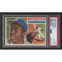 1956 Topps #31A Hank Aaron (PSA 6)